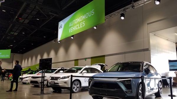 Autonomous Vehicles at GTC 2019